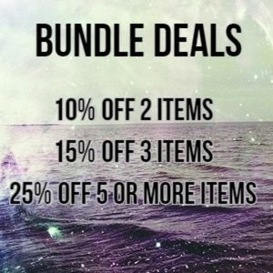 $4.99 shipping on all bundles!